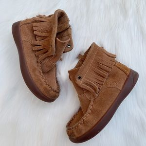 Uggs Boots Brown Baby Girls Toddler Size 7
